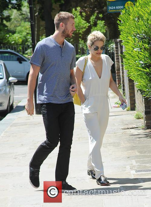 Calvin Harris and Rita Ora 2