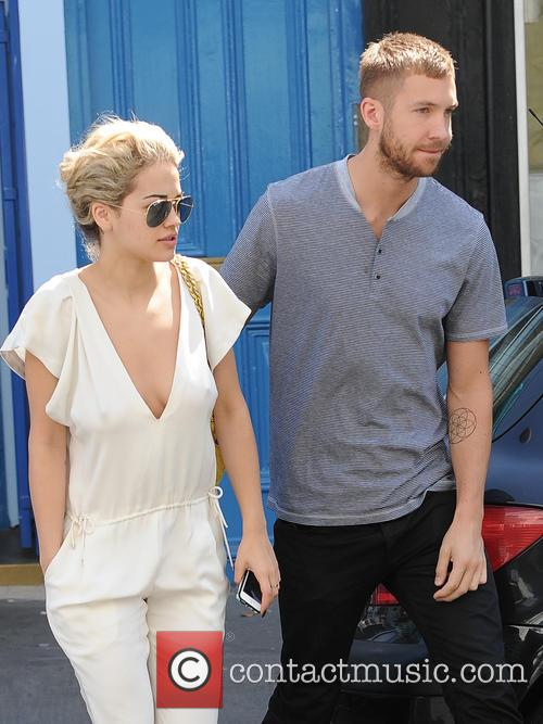 Calvin Harris and Rita Ora 10