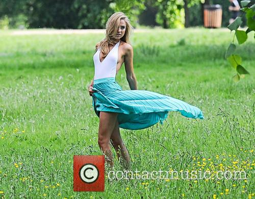 Kimberley Garner photo shoot