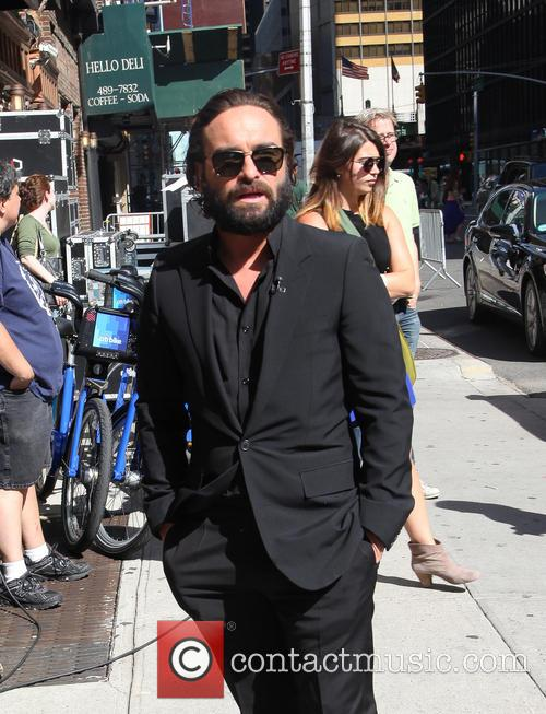 Johnny Galecki, Ed Sullivan Theater, The Late Show