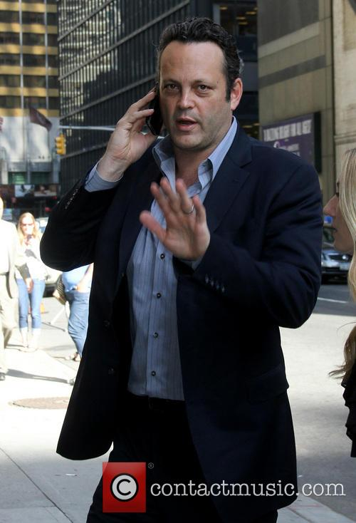 Vince Vaughn, Ed Sullivan Theater, The Late Show