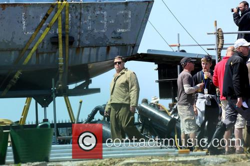 john goodman the monuments men filming 3704562