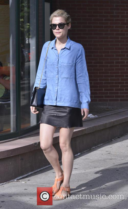Rachael Taylor seen out and about
