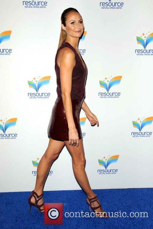 stacy keibler resource natural spring water launch 3705129