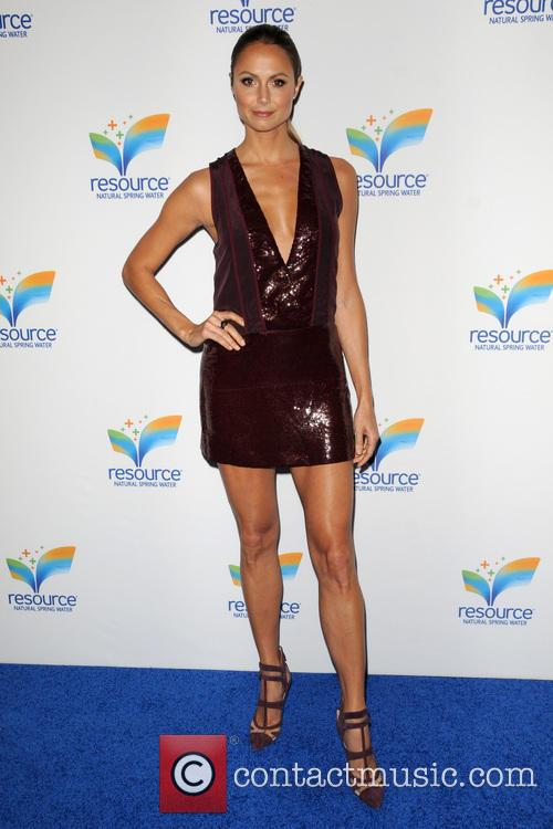 stacy keibler resource natural spring water launch 3705136