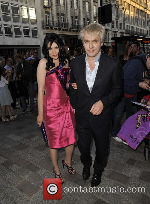 Nick Rhodes and Girlfriend Nefer Suvio 3