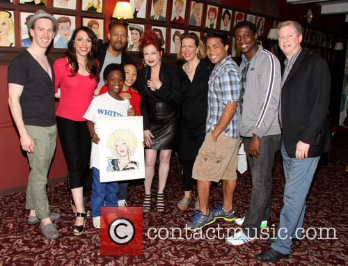 Cyndi Lauper, Kinky Boots Cast and Kenneth Posner 11