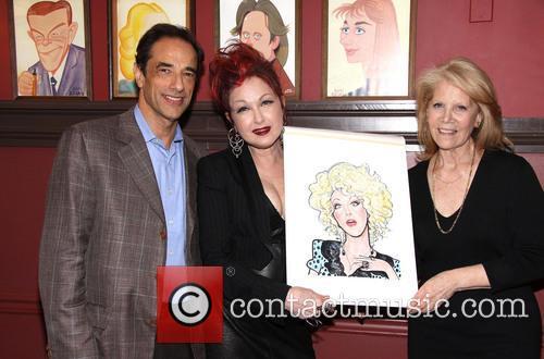 Cyndi Lauper Portrait Unveiling