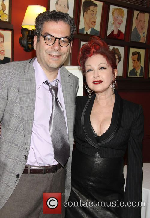 Michael Musto and Cyndi Lauper 2