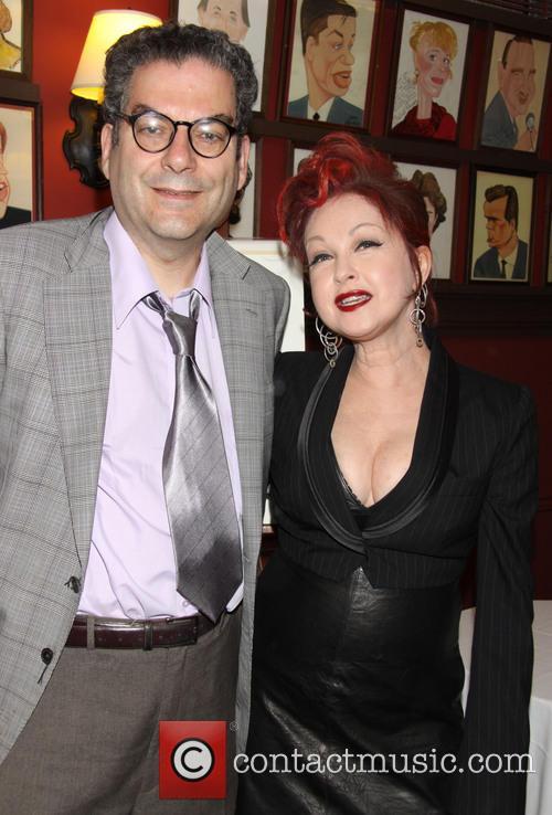 Michael Musto and Cyndi Lauper 1