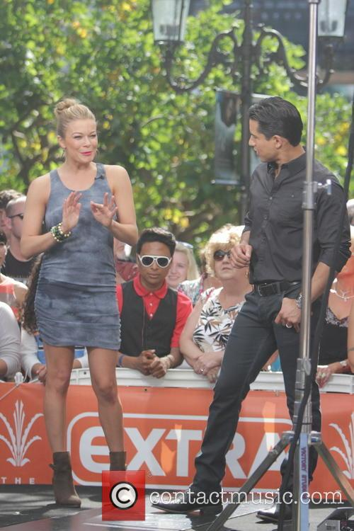LeAnn Rimes at The Grove
