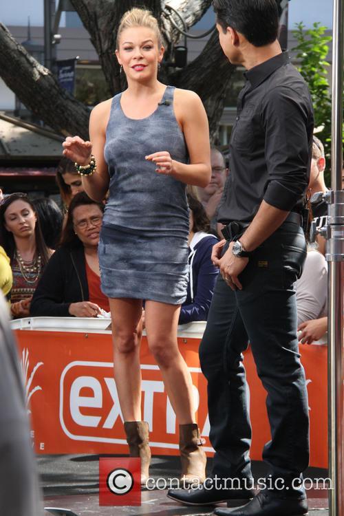 LeAnn Rimes and Mario Lopez 2