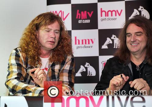 Dave Mustaine and David Ellefson 5