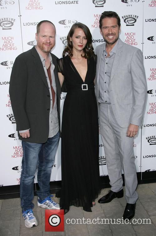 Joss Whedon, Amy Acker and Alexis Denisof 1