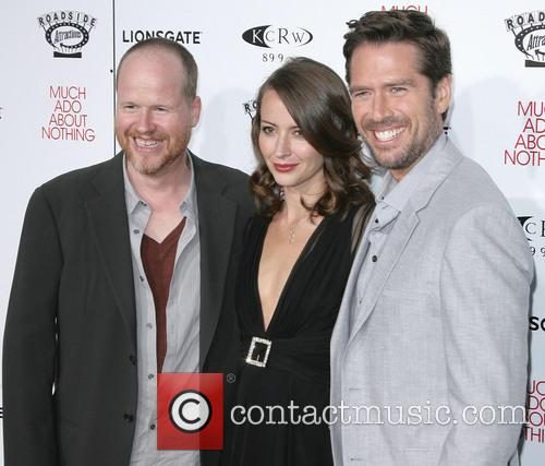 Joss Whedon, Amy Acker and Alexis Denisof 7