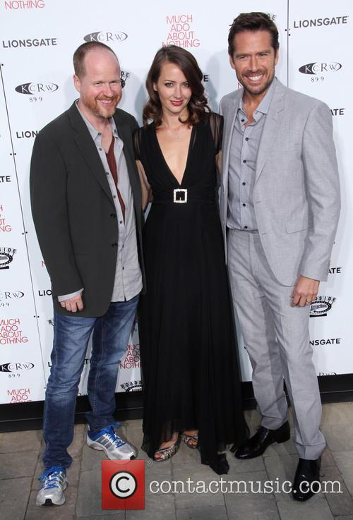 Joss Whedon, Amy Acker and Alexis Denisof 8