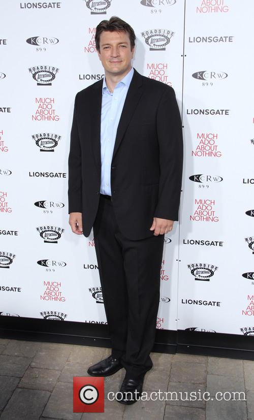 nathan fillion los angeles premiere screening of 3706330