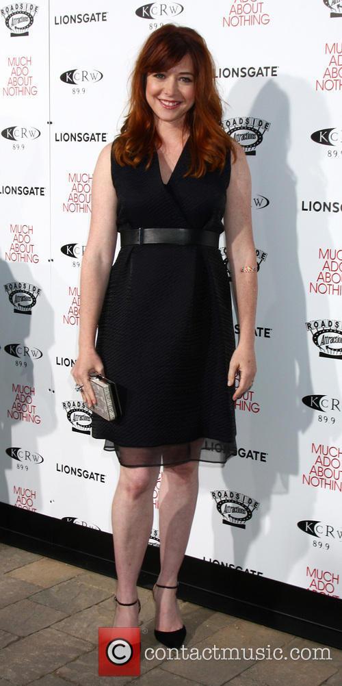 Alyson Hannigan, Oscars Outdoors at Academy Hollywood, Oscars
