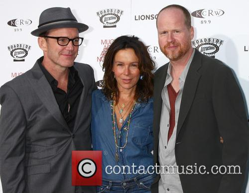 Clark Gregg, Jennifer Grey and Joss Whedon 7