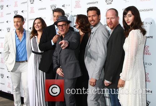 Joshua Zar, Emma Bates, Nathan Fillion, Clark Gregg, Amy Acker, Alexis Denisof, Joss Whedon and Jillian Morgese 4