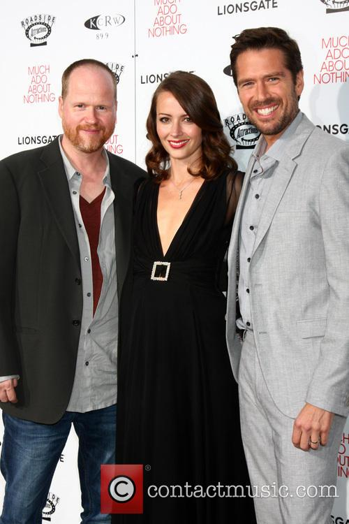 Joss Whedon, Amy Acker and Alexis Denisof 6