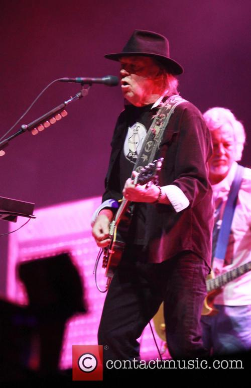 Neil Young performs live at the Ziggo Dome