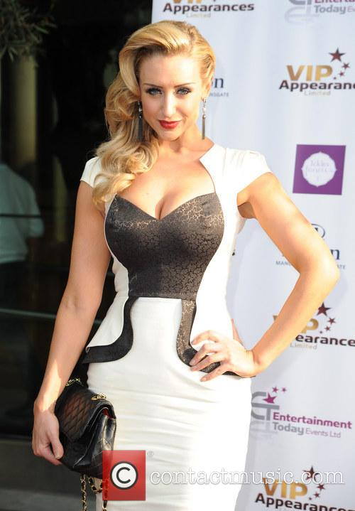 catherine tyldesley vip appearances launch 3705197