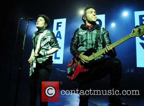 Patrick Stump and Peter Wentz 5