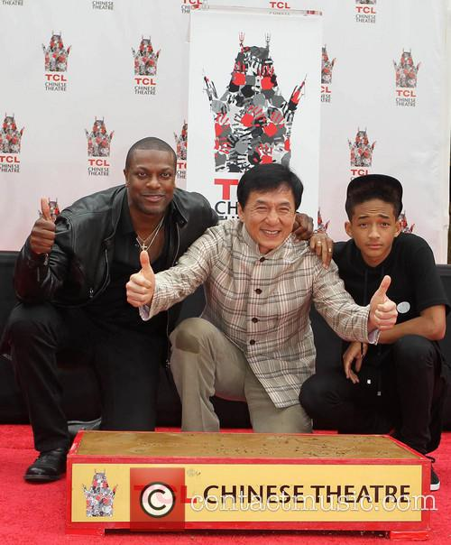 Chris Tucker, Jackie Chan and Jaden Smith 2