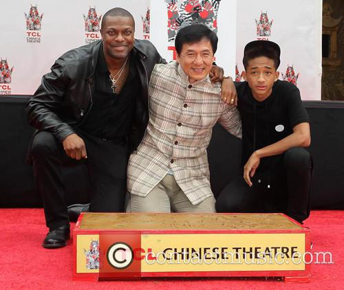 Chris Tucker, Jackie Chan and Jaden Smith 3