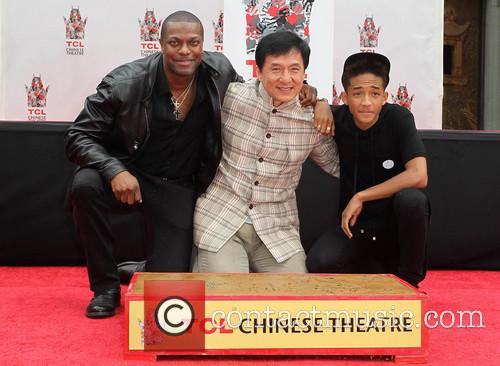 Chris Tucker, Jackie Chan and Jaden Smith 8