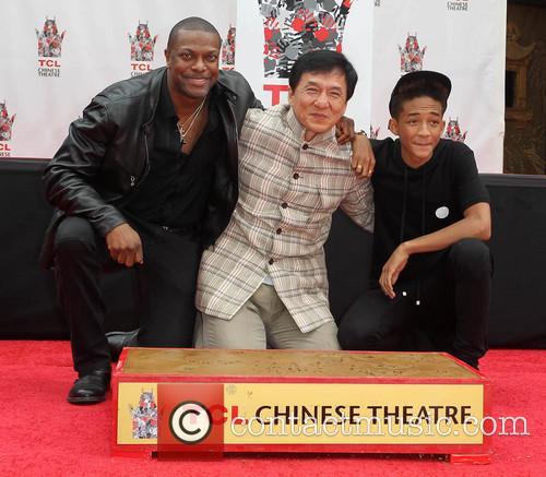 Chris Tucker, Jackie Chan and Jaden Smith 11