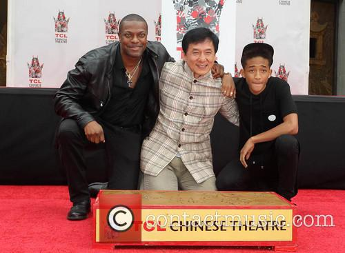 Chris Tucker, Jackie Chan and Jaden Smith 7