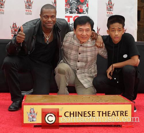 Chris Tucker, Jackie Chan, Jaden Smith, TCL Chinese Theatre