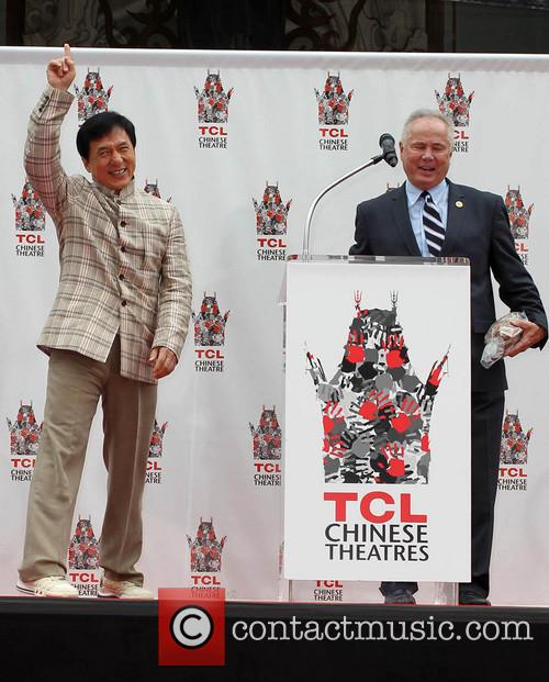 Jackie Chan and Councilman Tom Labonge 5