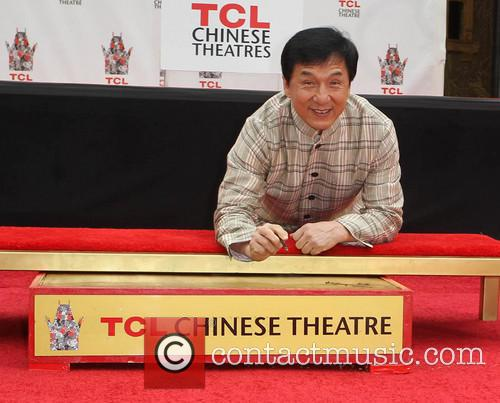 Jackie Chan, TCL Chinese Theatre