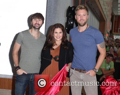 Lady Antebellum, Hillary Scott, Charles Kelley and Dave Haywood 5