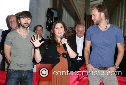 Lady Antebellum, Hillary Scott, Charles Kelley and Dave Haywood 6