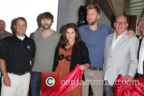 Lady Antebellum, Hillary Scott, Charles Kelley and Dave Haywood 7