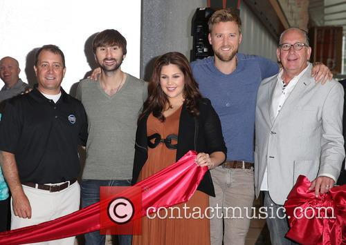Lady Antebellum, Hillary Scott, Charles Kelley and Dave Haywood 10