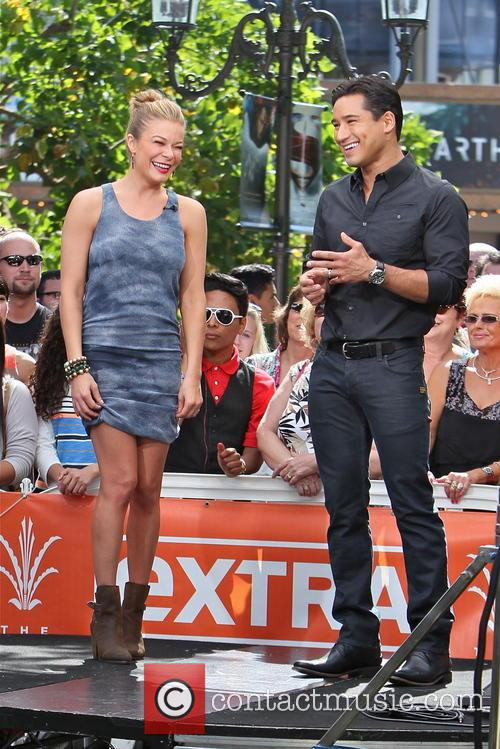LeAnn Rimes and Mario Lopez 1