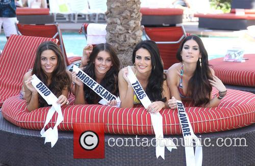 Texas, Miss Rhode Island USA Brittany Stenovitch, Miss Ohio USA Kristin Smith, Miss Delaware Rachel Baiocco, Flamingo Hotel and Casino