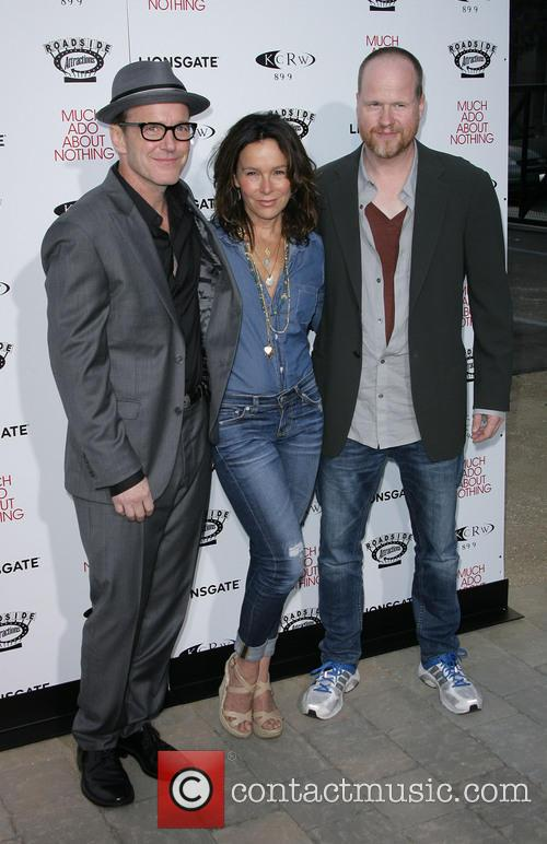 Clark Gregg, Jennifer Grey and Director Joss Whedon 6