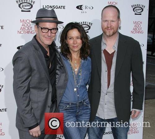Clark Gregg, Jennifer Grey and Director Joss Whedon 9