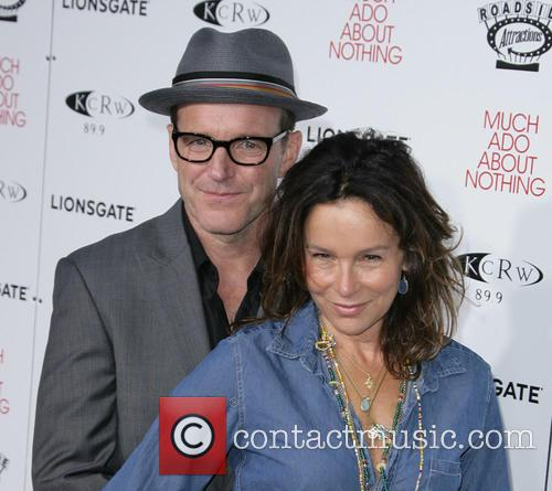 Clark Gregg and Jennifer Grey 3