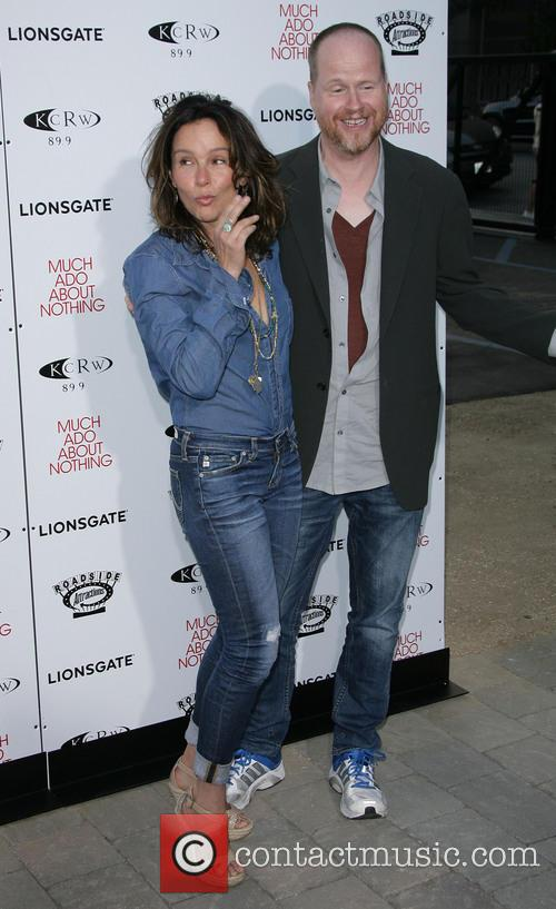 Jennifer Grey and Director Joss Whedon 3