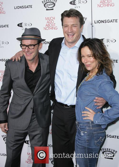 Nathan Fillion, Clark Gregg and Jennifer Grey 3
