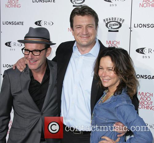 Nathan Fillion, Clark Gregg and Jennifer Grey 5
