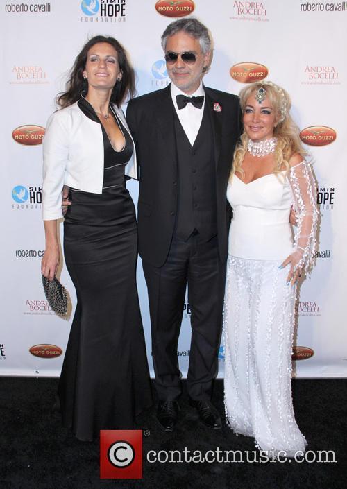 Andrea Bocelli, Veronica Bocelli and Simin Hashemizadeh 2