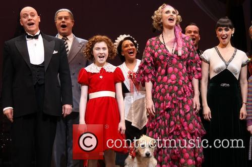 Anthony Warlow, Merwin Foard, Lilla Crawford, Sunny, Jane Lynch, Brynn O'malley and Cast 6